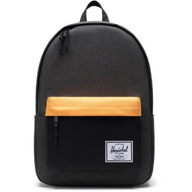 Herschel Classic X-Large Rugzak, black crosshatch/black/blazing orange